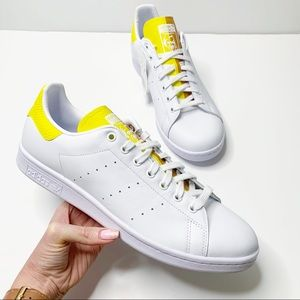 NEW Adidas Stan Smith Snakeskin Legacy Gold Yellow